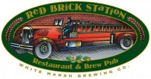 Red Brick Station beer logo