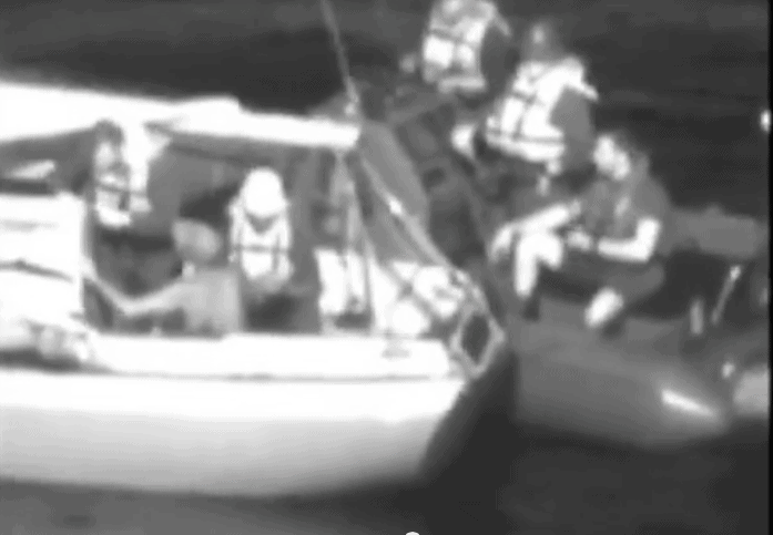 Coast Guard sailboat rescue