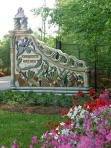 Annemarie Sculpture Garden & Arts Center gate