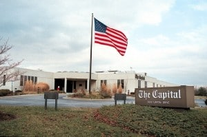 The Capital Gazette building Annapolis