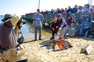 Annapolis Sock Burning & Oyster Roast