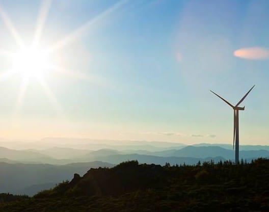 wind turbine by Pioneer Green Energy