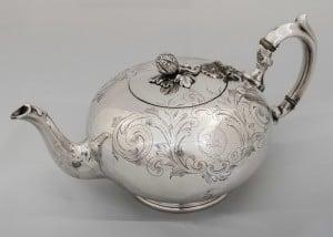 U.S. Navy Museum silver teapot