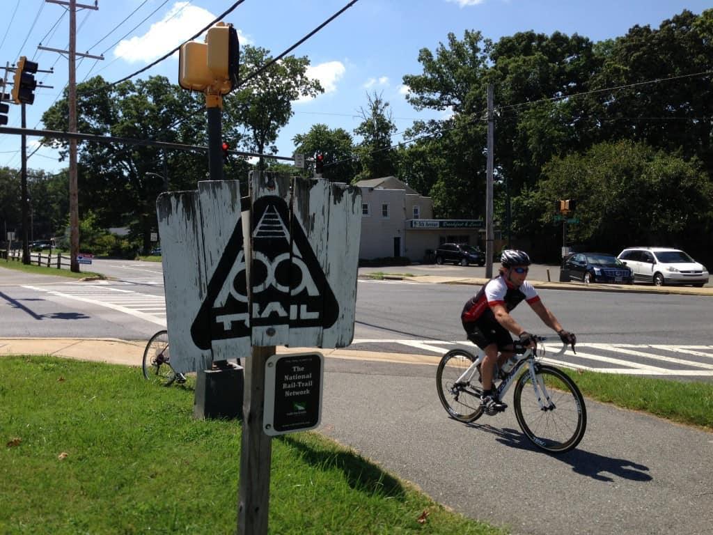 B&A bike trail