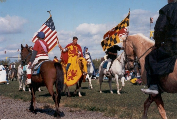 Maryland jousting parade