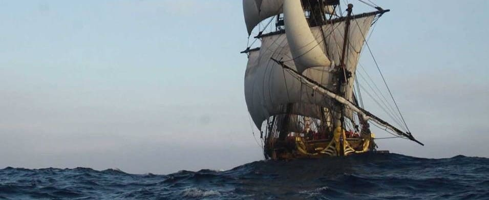 L'Hermione tall ship