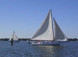 2014 Choptank Heritage Skipjack Race.