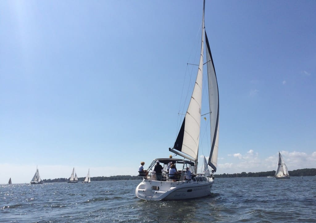 """Southpaw"" sailboat"