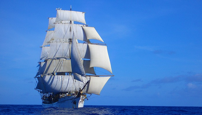 Picton-Castle-under-sail-with-stunsls-ON-THE-WAY-TO-BALI-101-Courtesy-of-Picton-Castle