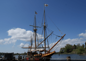 The Maryland Dove historic tall ship
