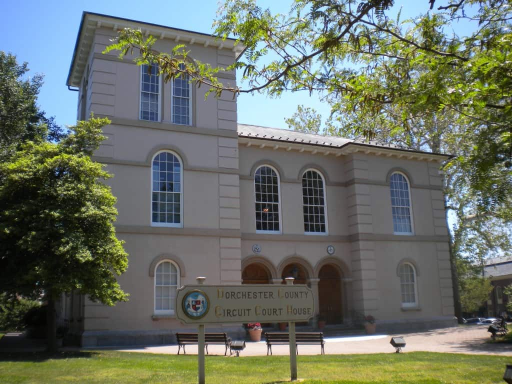 Dorchester County Courthouse, Cambridge, Maryland