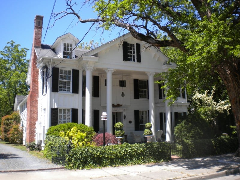 Historic home on High Street in Cambridge, Maryland