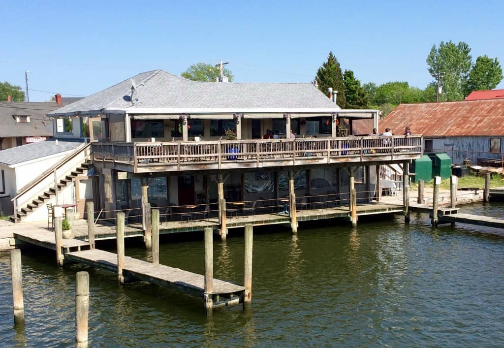 Portside restaurant, Cambridge, MD