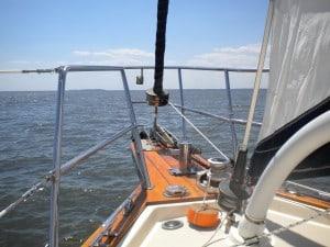 sailboat bow