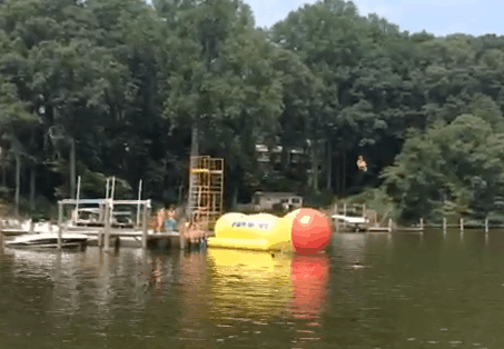 Blobbing on the Severn River