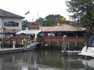 Chesapeake Inn tiki bar