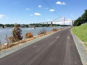 Chesapeake City bike trail