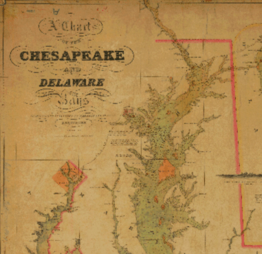 Chesapeake Bay 1840