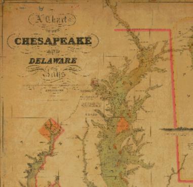 Chesapeake Bay 1840