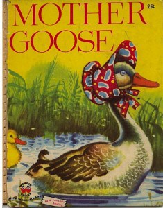 Mother Goose book cover