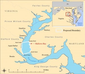 Mallow's Bay map