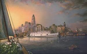 Artist rendering of The President Warfield,
