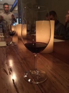 Wine tasting at Quintessa in Napa Valley