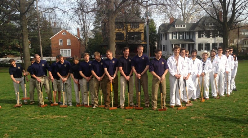 2104 croquet teams in Annapolis Cup croquet match