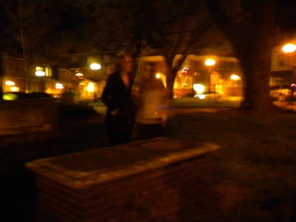 St. Anne's Parish cemetery in Annapolis