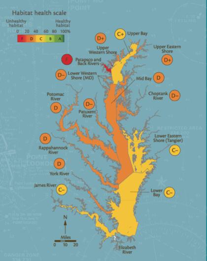 2006 Chesapeake Bay report card