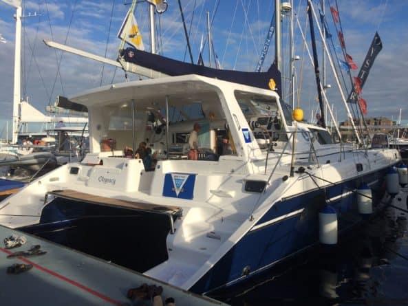 St. Francis sailboat