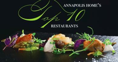"""Annapolis Home"" Magazine's Top 10 Restaurants"