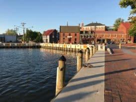 Annapolis' City Dock warehouse district