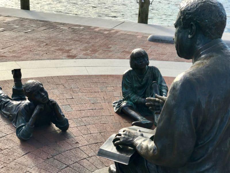 Alex Haley Memorial in Annapolis, MD