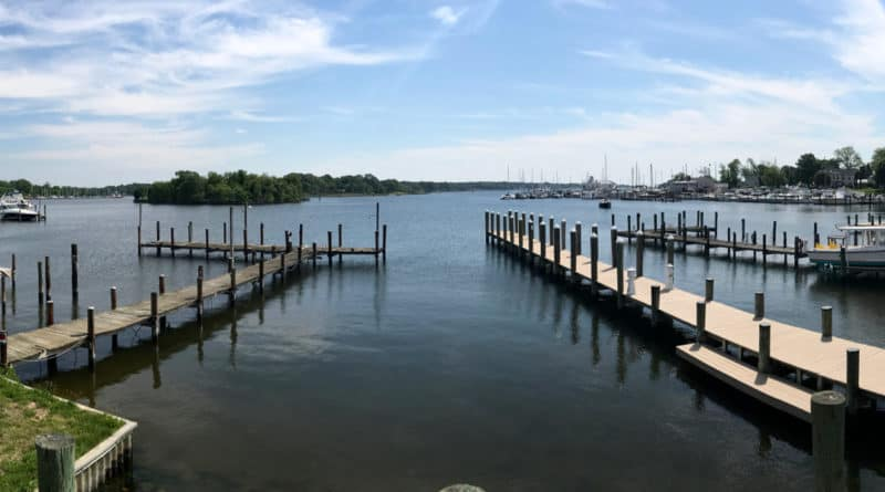 Back Creek on Solomons Island, MD