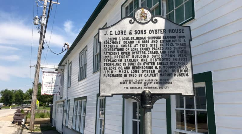 Lore & Sons Oyster House, Solomon's Island, MD