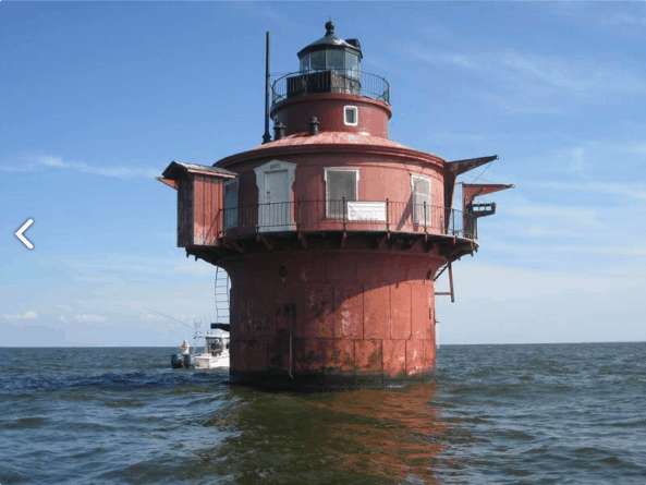 Craighill Channel Lower Range Front Light Station