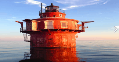 Rare opportunity to buy a Chesapeake Bay lighthouse. A little fixer-upper opportunity.