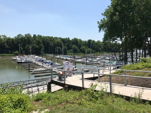 Summit North Marina, outside Bear, Delaware