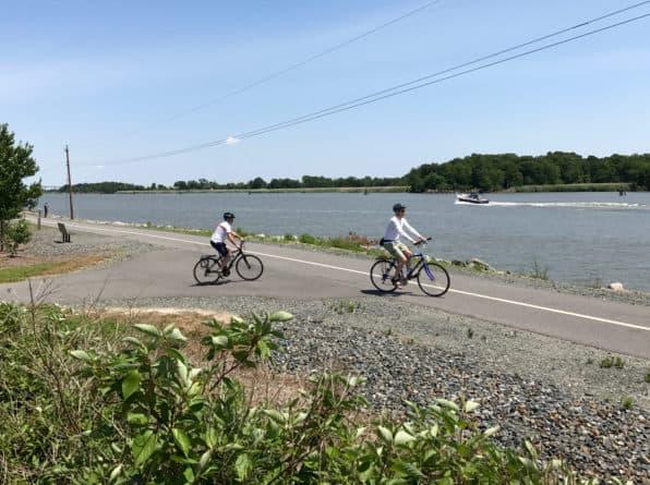 C&D Canal bike trail