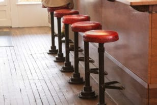 Durding's Store ice cream counter stools