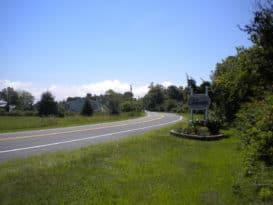 Road into Neavitt, MD