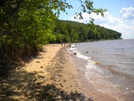 Elk Neck State Park beach