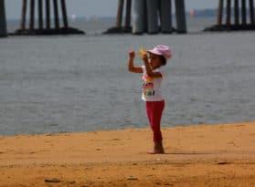 Sandy Point State Park Beach
