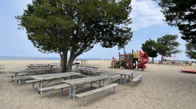 Breezy Point Beach