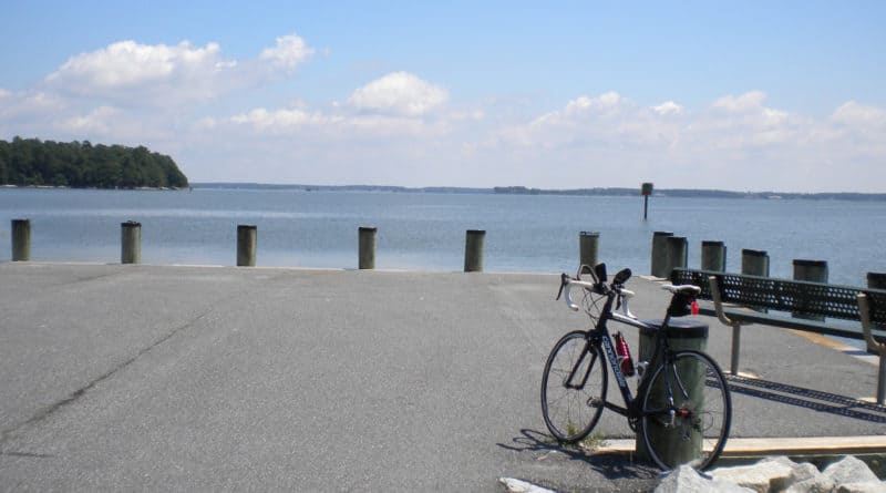St. Michaels -> Neavitt Landing Bike Route: Overview