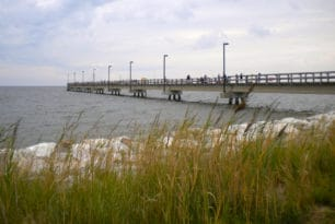 Point Lookout State Park fishing pier