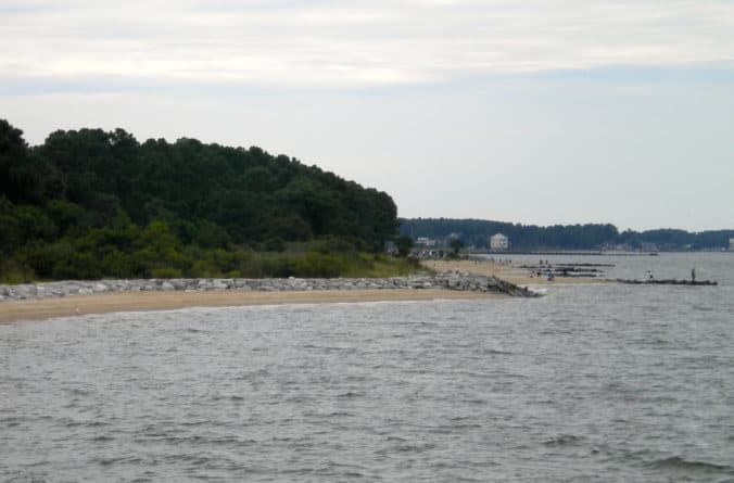 Point Lookout State Park fishing and dog beach
