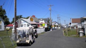 Tangier Island's Main Street