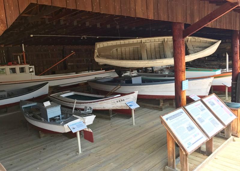 Calvert Marine Museum Boat Basin & Small Craft Shed